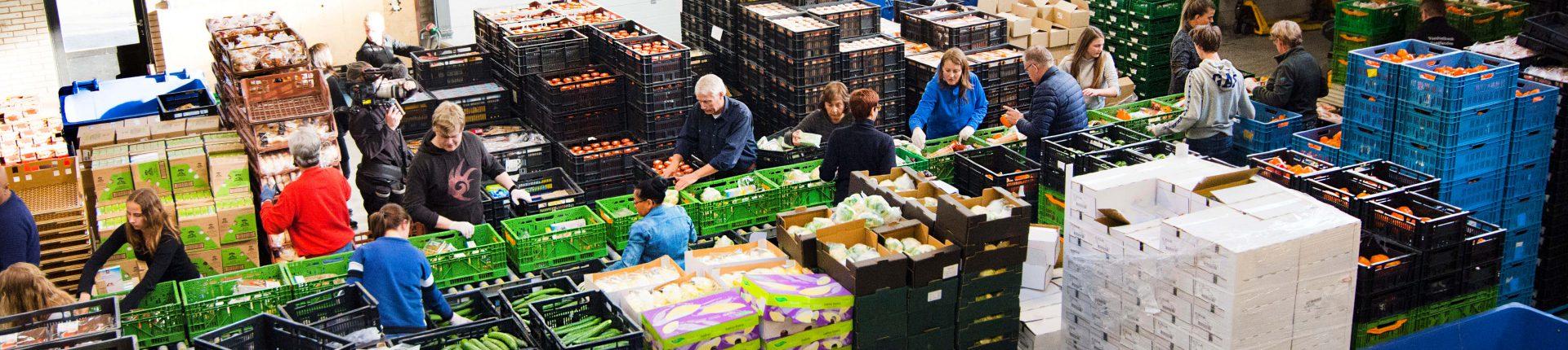 Inpakken Voedselpakket