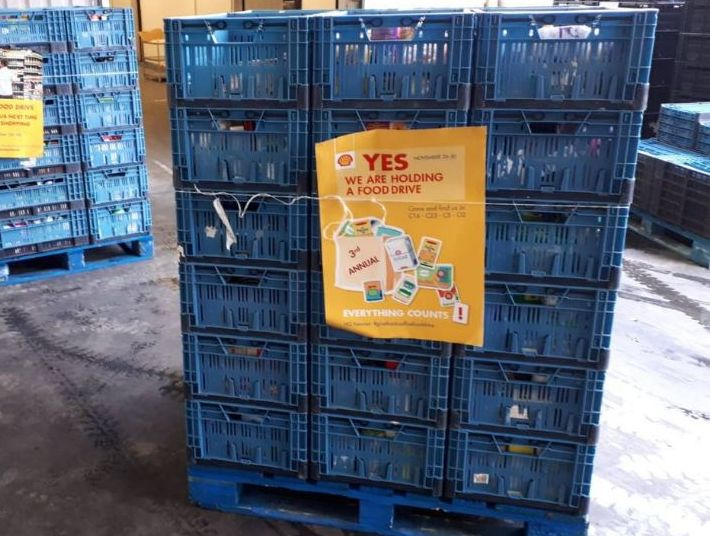 Shell Food Drive Voedselbank