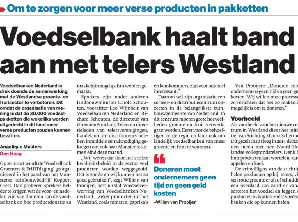 Telers Westland