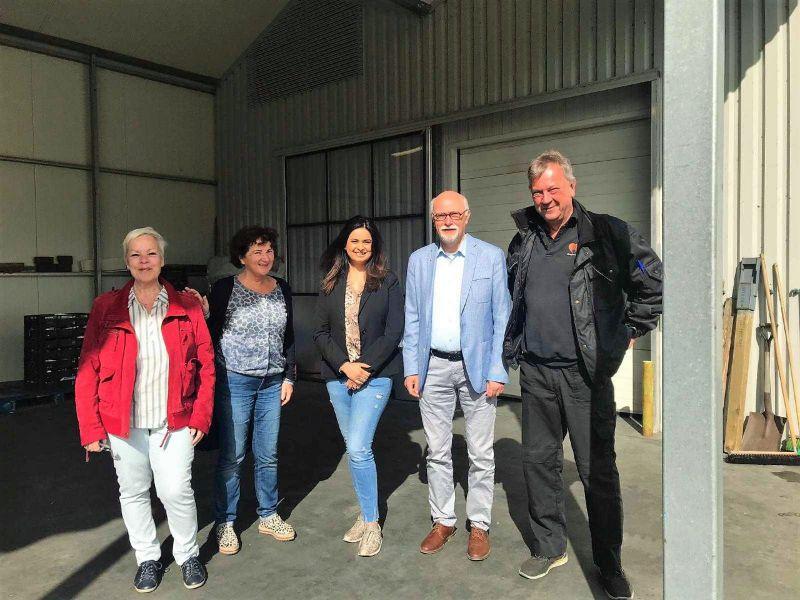 Bezoek Janice Roopram en Monica van Stuijvenberg