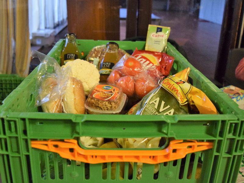 Voedselbank krat